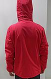 Ветровка мужская Nike красная, фото 3