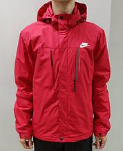 Ветровка мужская Nike красная