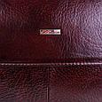 Портфель из кожи для ноутбука Desisan Shi1312-10fl коричневый, фото 7