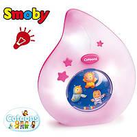 Ночник розовый Cotoons Smoby 110101R