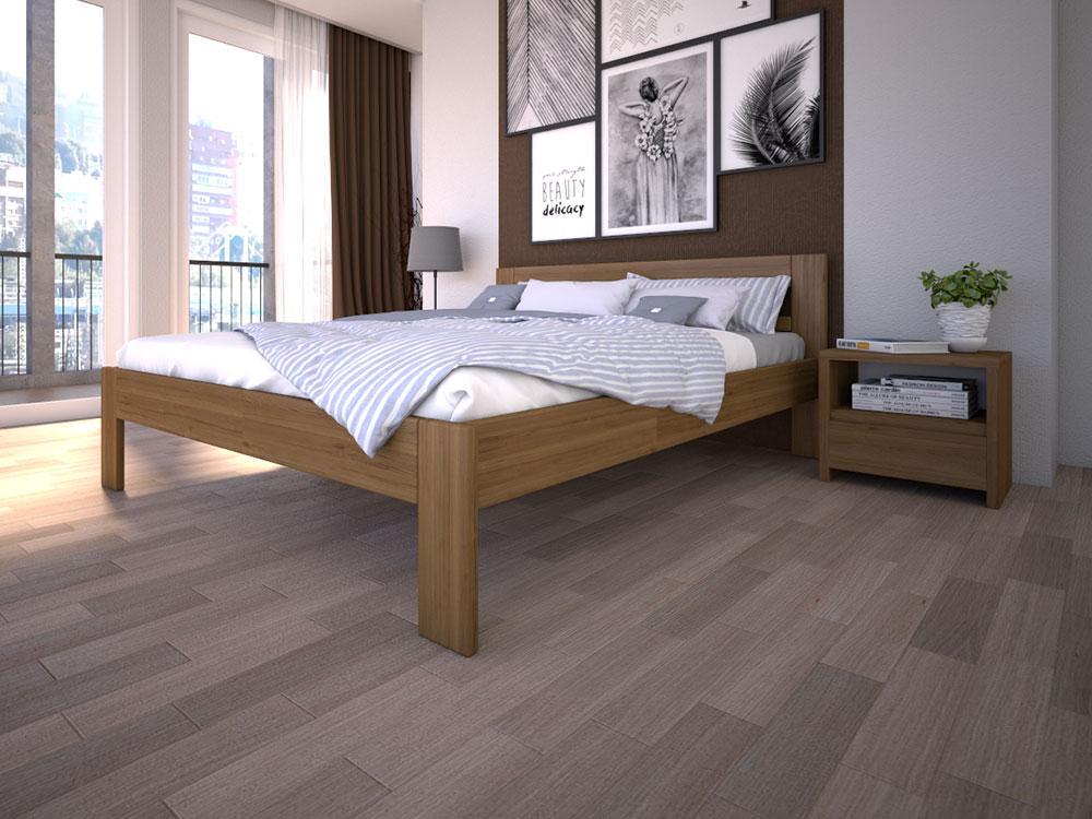Деревянная кровать ЛК-3 ТМ ТИС