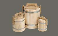 Бондарные изделия для саун и бань