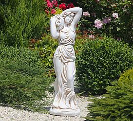 Садовая фигура Дама с кувшином 83х26х23 см