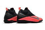 Сороконожки Nike Phantom Vision II React Pro DF TF black/red, фото 3