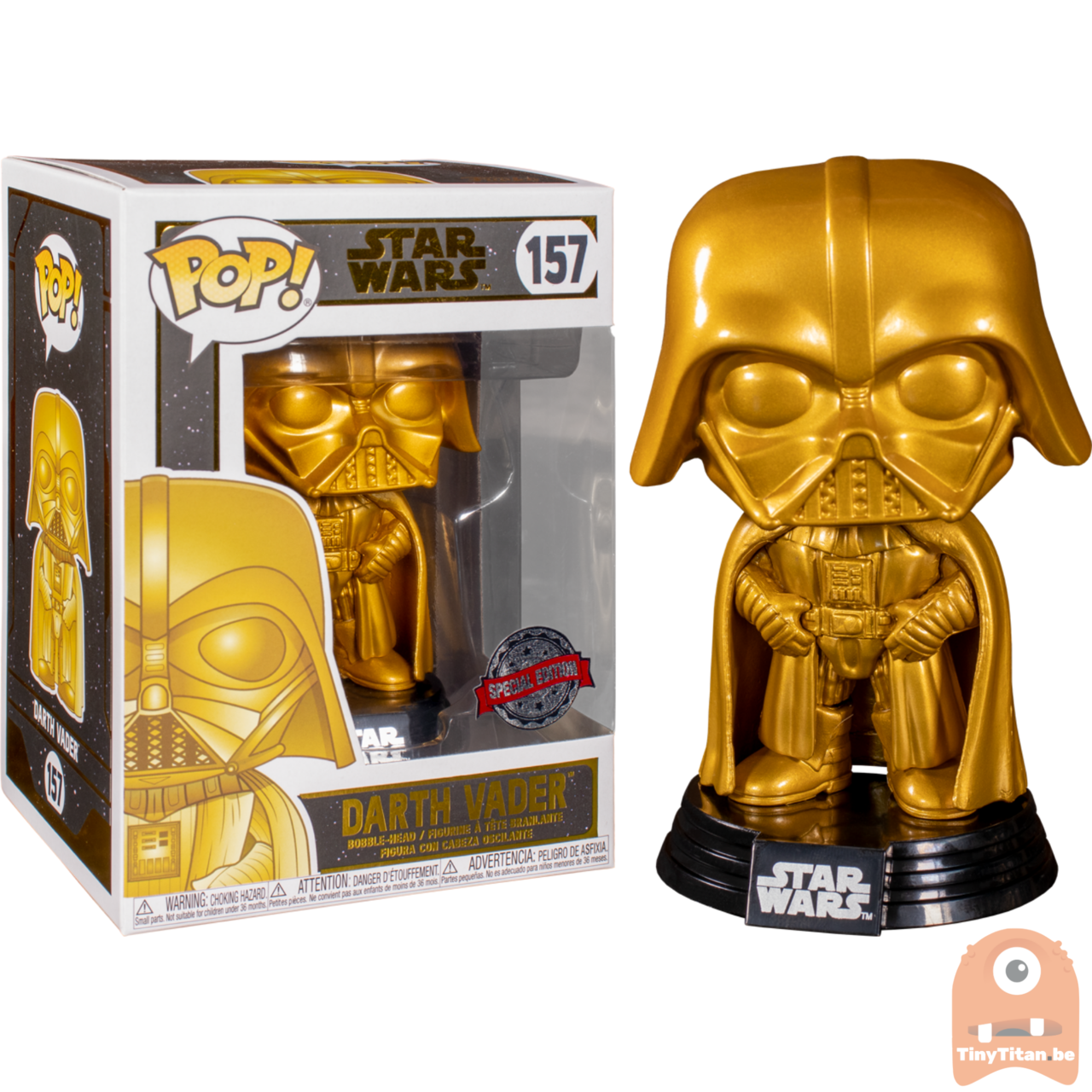 Игрушка Funko Pop Star Wars Darth Vader 157