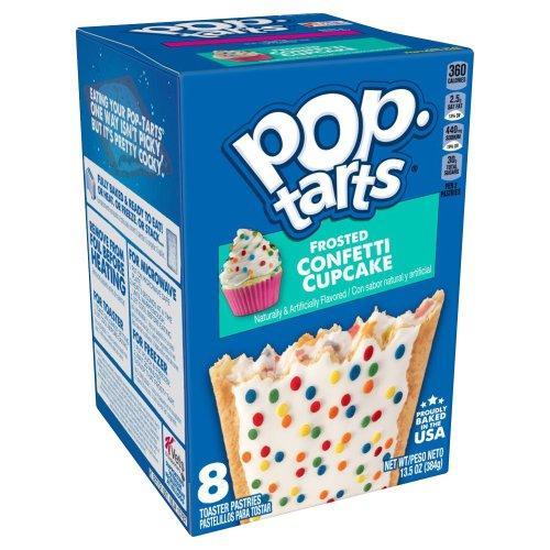 Печенье Pop Tarts Confetti Cupcake Упаковка 8s 384 g