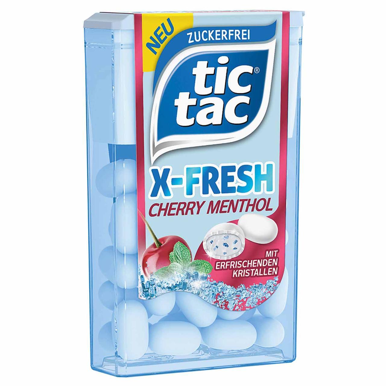 Драже Tic Tac Xfresh Cherry Mentol 16 g