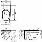 Система инсталляция GEBERIT Duofix 458.126.00.1 с унитазо KOLO Modo Remfree L33120000 и Soft Close L30112000, фото 4