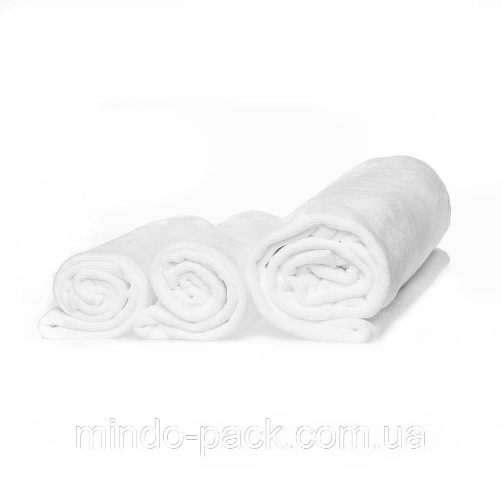 Ткань микрофибра в рулонах (400грамм/кв.м), белая