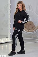 Спортивный женский костюм большие размеры РОж5331, фото 1