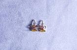 Серьги-ромашки фирмы Xuping (color 87), фото 2