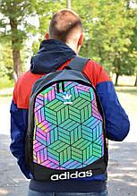 Рефлективный Рюкзак в стиле Adidas унисекс