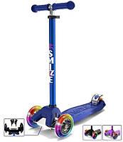 Самокат детский трехколесный Mini Scooter SMIZZE Lite Ride (синий)