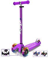 Самокат детский трехколесный Mini Scooter SMIZZE Lite Ride (фиолетовый)