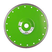 Круг алмазный отрезной 1A1R Turbo 230x2,6x9x22,23/F Elite Active, фото 1