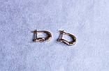 Стильні сережки фірми Xuping (color 88), фото 3