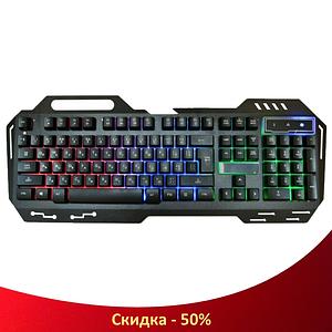 Клавіатура KEYBOARD GK-900 з підсвічуванням, Дротова клавіатура, Ігрова клавіатура, Геймерська клавіатура