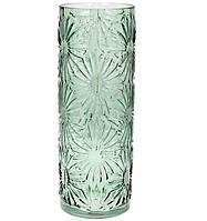 Ваза зеленая Астра, стекло 42,2 см