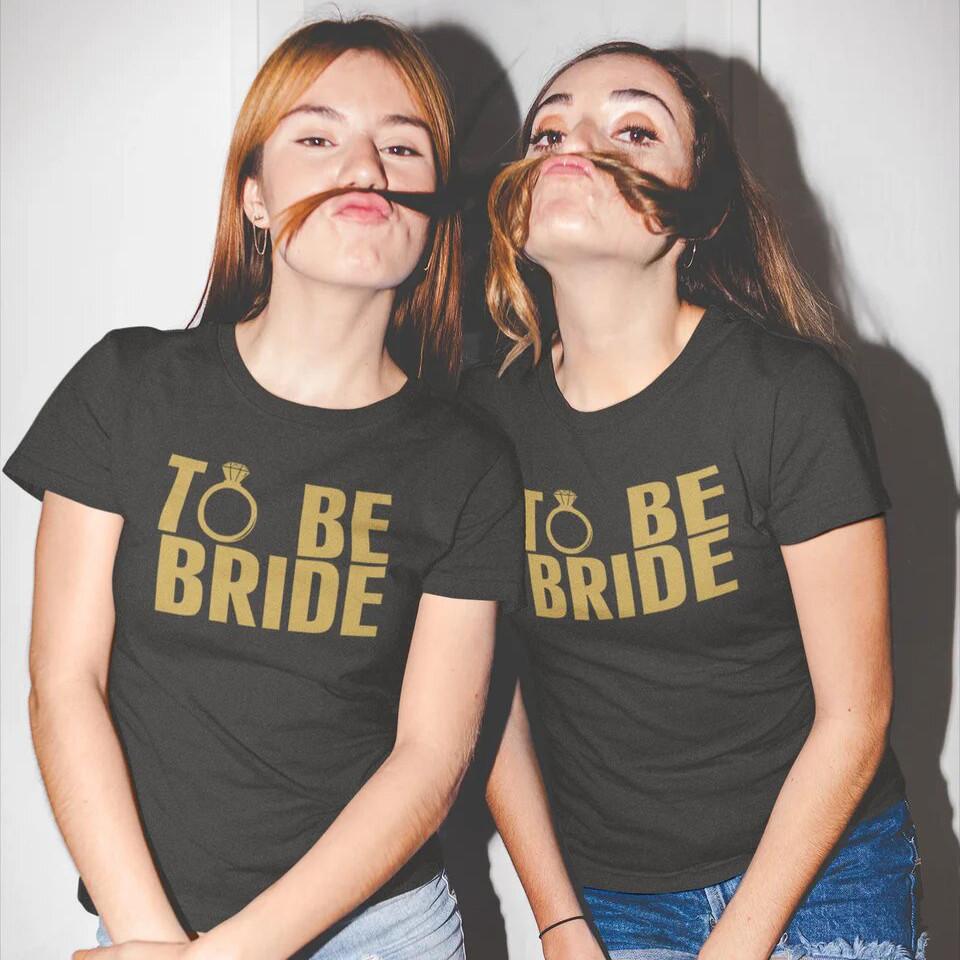 """Футболка на девичник """"To be Bride"""""""
