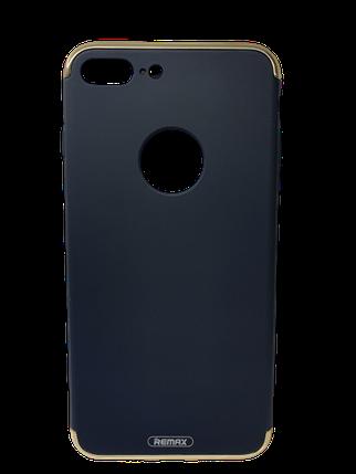 Чохол-накладка Remax Lock Series Case для Apple iPhone 7 Plus Чорний, фото 2