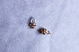 Милі сережки-сердечка фірми Xuping(color 11), фото 4