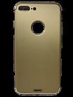 Чехол-накладка Remax Lock Series Case для Apple iPhone 7 Plus Золотистый