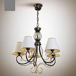 Класична люстра з абажурами на ланцюгу для великої кімнати, зал 9455-2