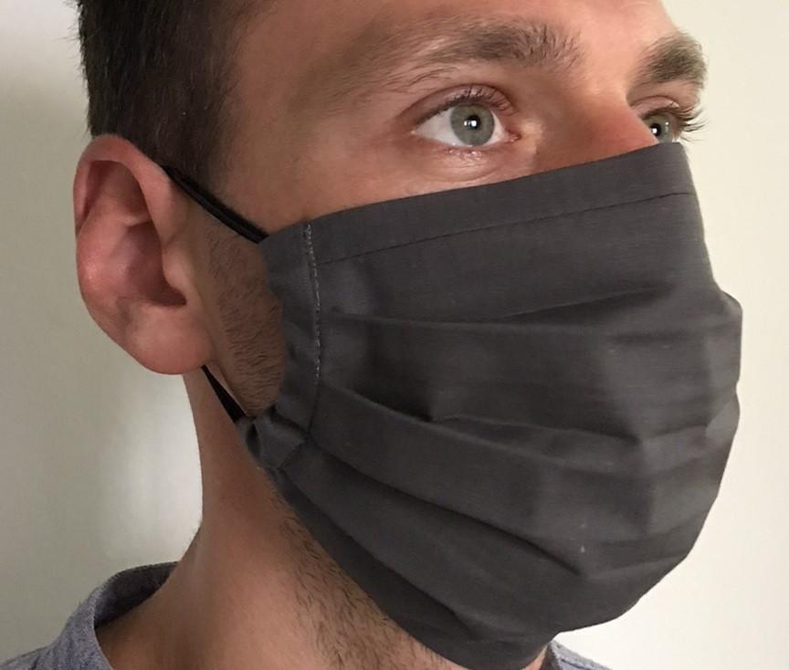 Защитная  многоразовая маска для лица, хлопок 100%