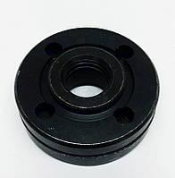 Притискна гайка - фланець болгарки Элпром 1000-125 (різьблення М14 D14), фото 1