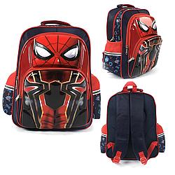 """Рюкзак шкільний """"Людина Павук"""" 3D Малюнок"""