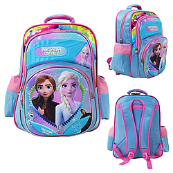 """Рюкзак шкільний """"Холодне серце"""" Frozen 3D Малюнок"""
