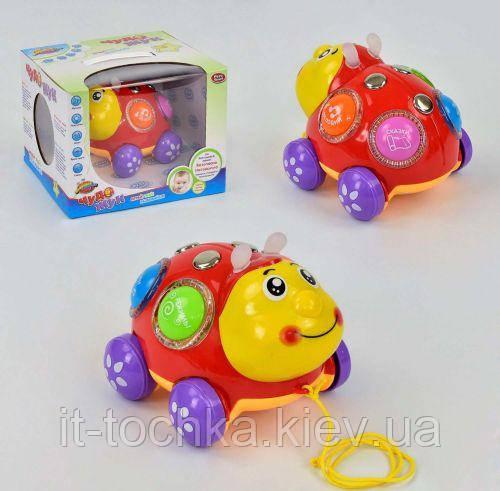 Музыкальная развивающая игрушка play smart Чудо Жук 7573