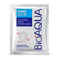 Маска тканевая от акне BIOAQUA Pure Skin Acne&Rejuvenation