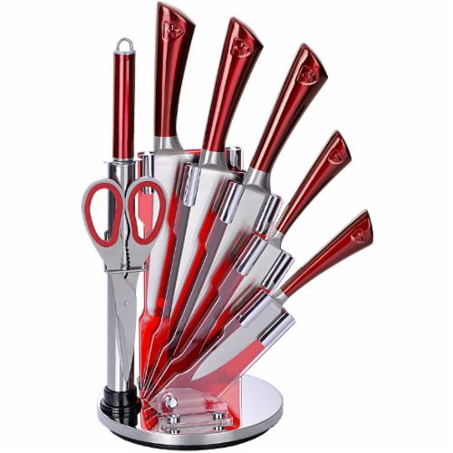 Набор кухонных ножей на подставке Royalty Line RL-KSS804