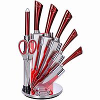 Набор кухонных ножей на подставке Royalty Line RL-KSS804, фото 1