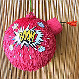 Піньята пірати бомба ядро піратська піната піньята на день народження паперова для свята, фото 10