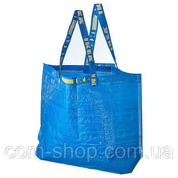 Сумка IKEA для покупок средняя, 36 л, синий