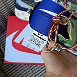 Мужские кроссовки Nike React Element  'Undercover' хаки демисезонные осень весна. Живое фото. Топ реплика ААА+, фото 7