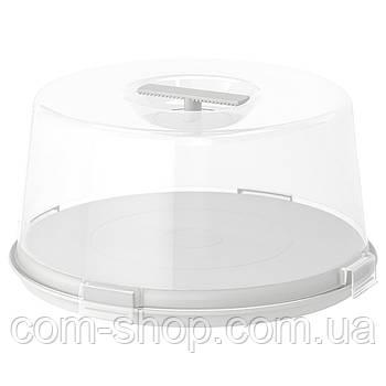 Контейнер для торта IKEA, пластиковый, 36 см