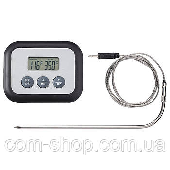 IKEA Термометр/таймер для мяса, цифровой черный