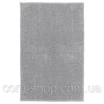 Коврик для ванной IKEA, туалета, 50x80 см, серо-белый меланж