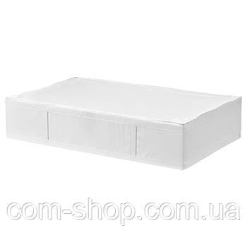 Сумка для хранения IKEA, органайзер, коробка для вещей, одежды, белья, 93x55x19 см, белый