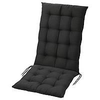 Подушка на садовую мебель IKEA, кресло, 116x47 см, черный