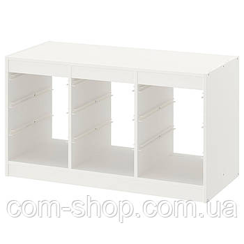 IKEA Каркас, белый, 99x44x56 см