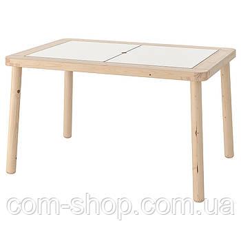 Стол детский IKEA, для занятий творчеством, деревянный, 83x58 см