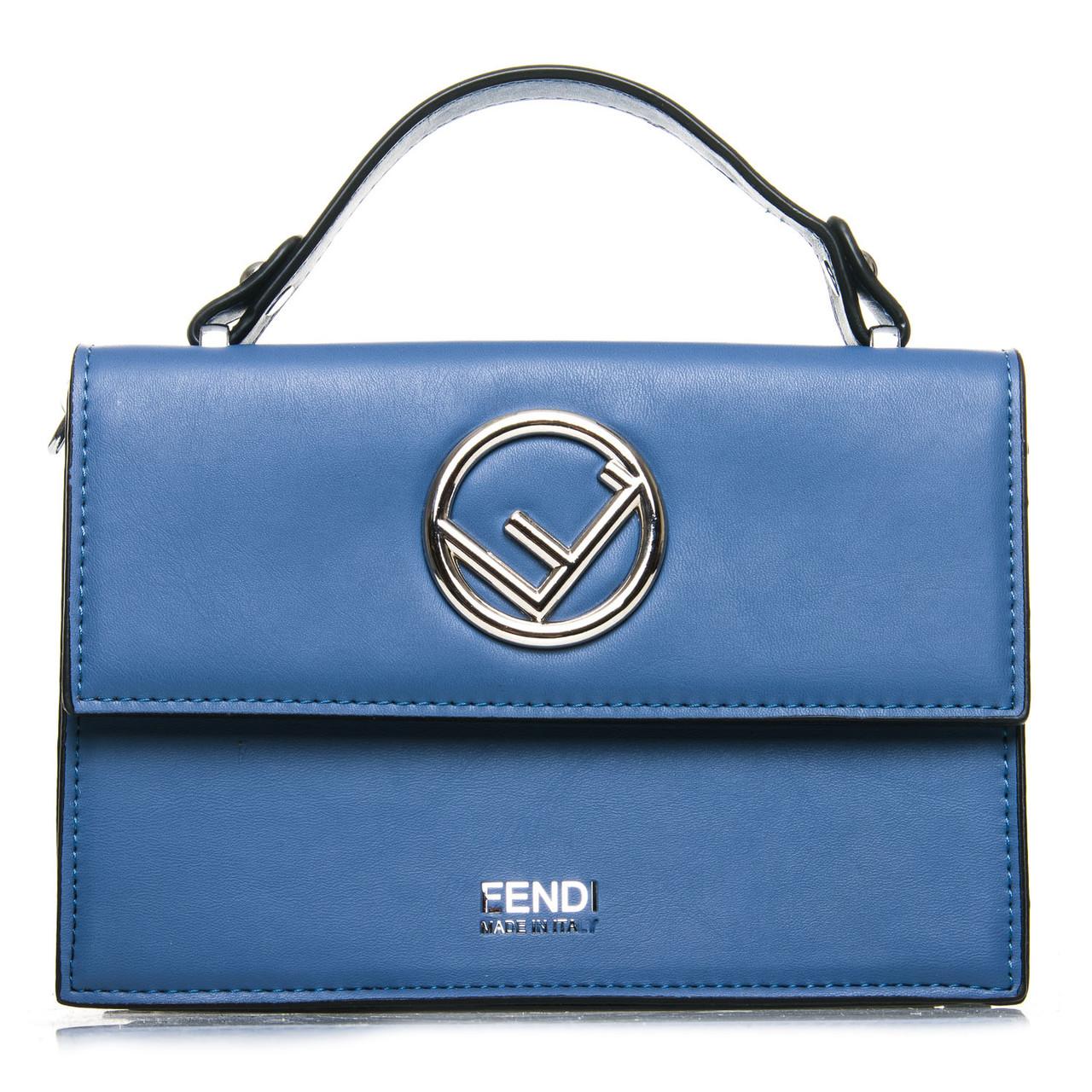 Сумка Женская Классическая иск-кожа FASHION 7-04 88025 blue