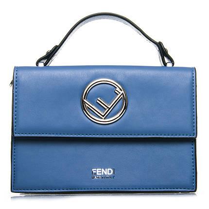 Сумка Женская Классическая иск-кожа FASHION 7-04 88025 blue, фото 2