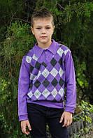 Джемпер - обманка для мальчика [Размер: 32, рост: 110-116]