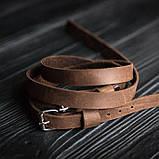 Браслет кожаный мужской mod.OldCraft 140 коричневый 6 вит., фото 2