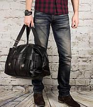 Чоловіча шкіряна дорожня сумка mod.Groover